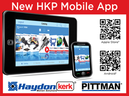 AMETEK Haydon Kerk Pittman  Launches New Mobile App